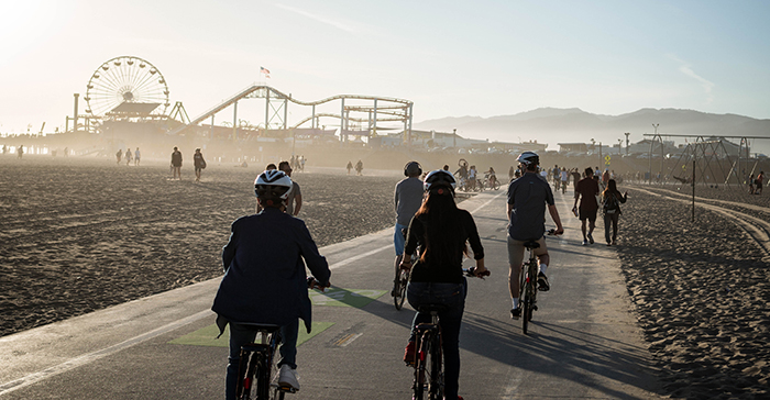A Coastal Bike Adventure From Santa Monica To Venice Beach